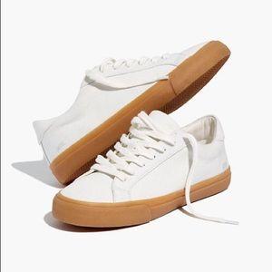Madewell Sidewalk Sneakers in Monochrome Canvas
